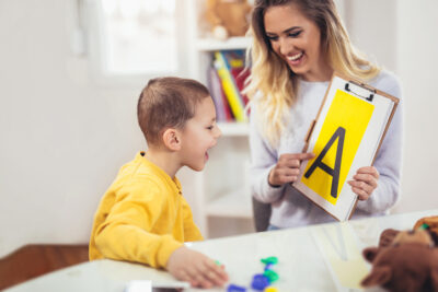 Speech Therapy with Child